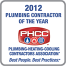 PHCC Plumbing Contractor of the Year 2012