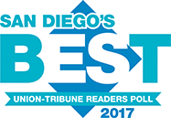 Union Tribune San Diego's Best 2017