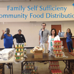 Family Self Sufficiency Community Food Distribution