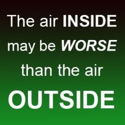 Air inside vs outside