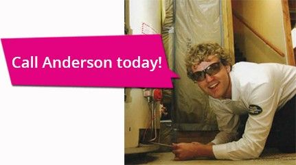 Call Anderson Today for Furnace Repair
