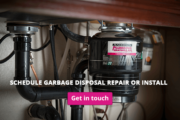 Contact a San Diego plumber for garbage disposal repair