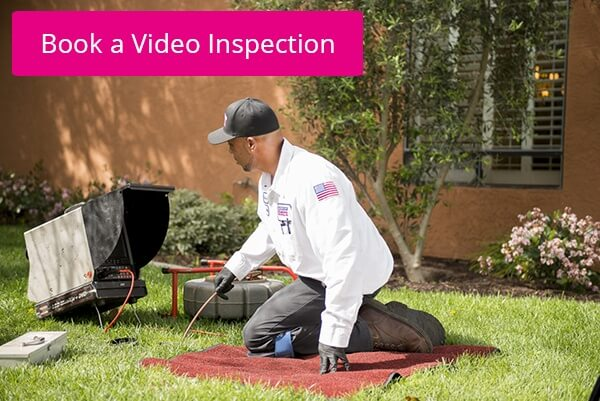Plumbing tech video inspection